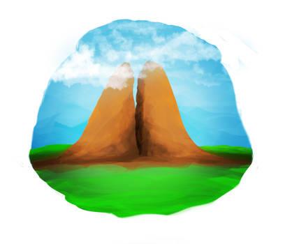 Split Mountain by Wiizer