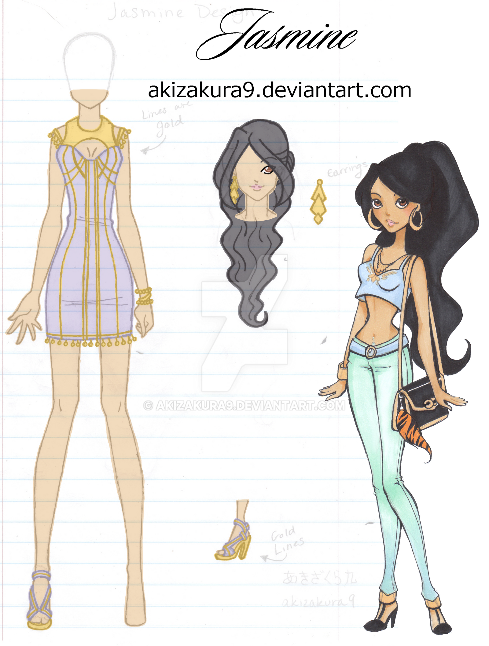 CE: Jasmine Design by akizakura9