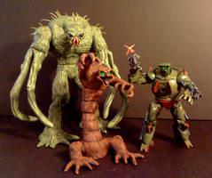 Redlen and Inhumanoids Crew