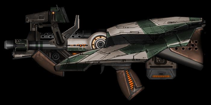 Bullpup Blaster Carbine by Tenacity1