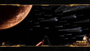 Sith Fleet over Korriban Wallp