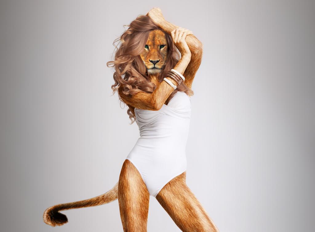 Lioness Pose by Tenacity1