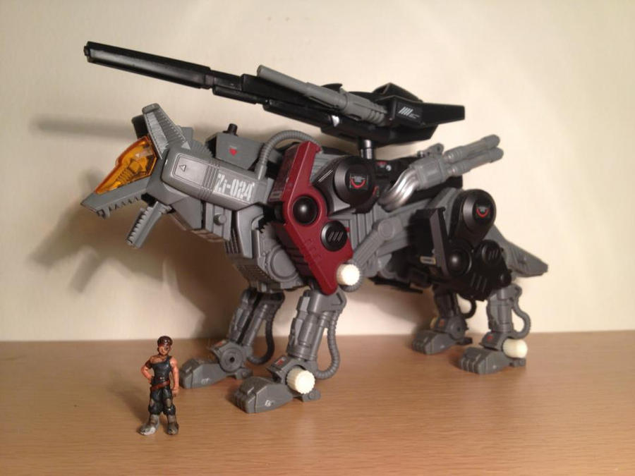 gallery zoids command wolf irvine