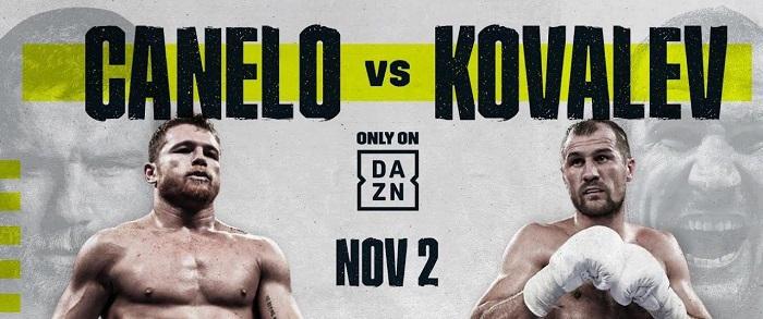 Canelo vs Kovalev Live