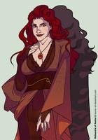 Melisandre of Asshai by Lauren-Oh
