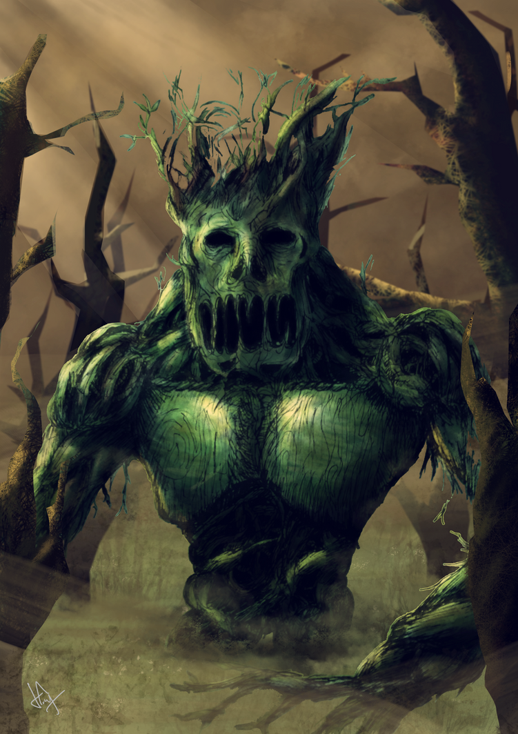 Lisovik The Swamp Creature by Rhenyx