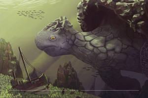 Underwater Encounter by Rhenyx
