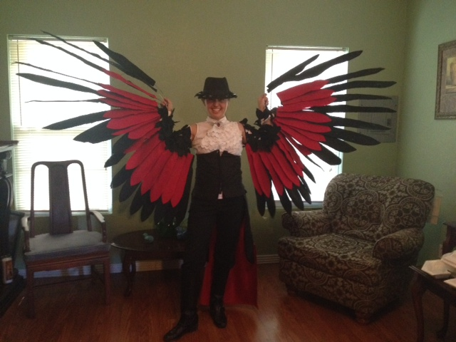 Honchkrow Cosplay Finished!!! by GailFreebird