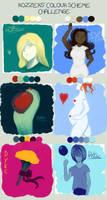Colour meme - Redone by DragonYoukaiKanaChan