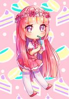 Pink Tea by Temarimaru