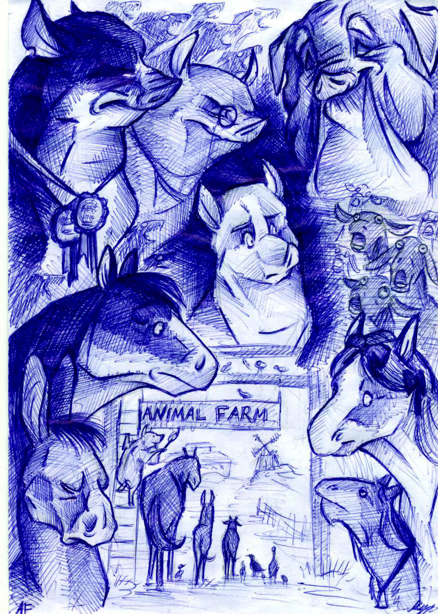 Animal Farm By Fortunatafox On Deviantart