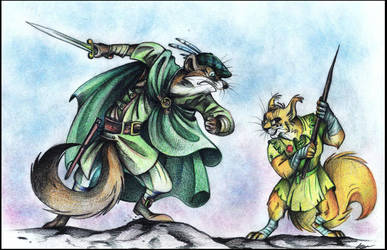 The last fight... by FortunataFox