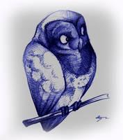 Just owl. by FortunataFox