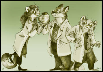 Katz, Zeller and Price. by FortunataFox