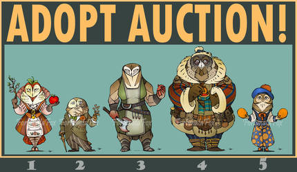 ADOPTABLES AUCTION! (OPEN) by FortunataFox