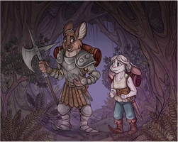Commission - A stroll though the forest - Part 1
