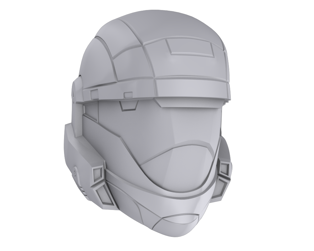 Halo 3 ODST Rookie Helmet by silverklan