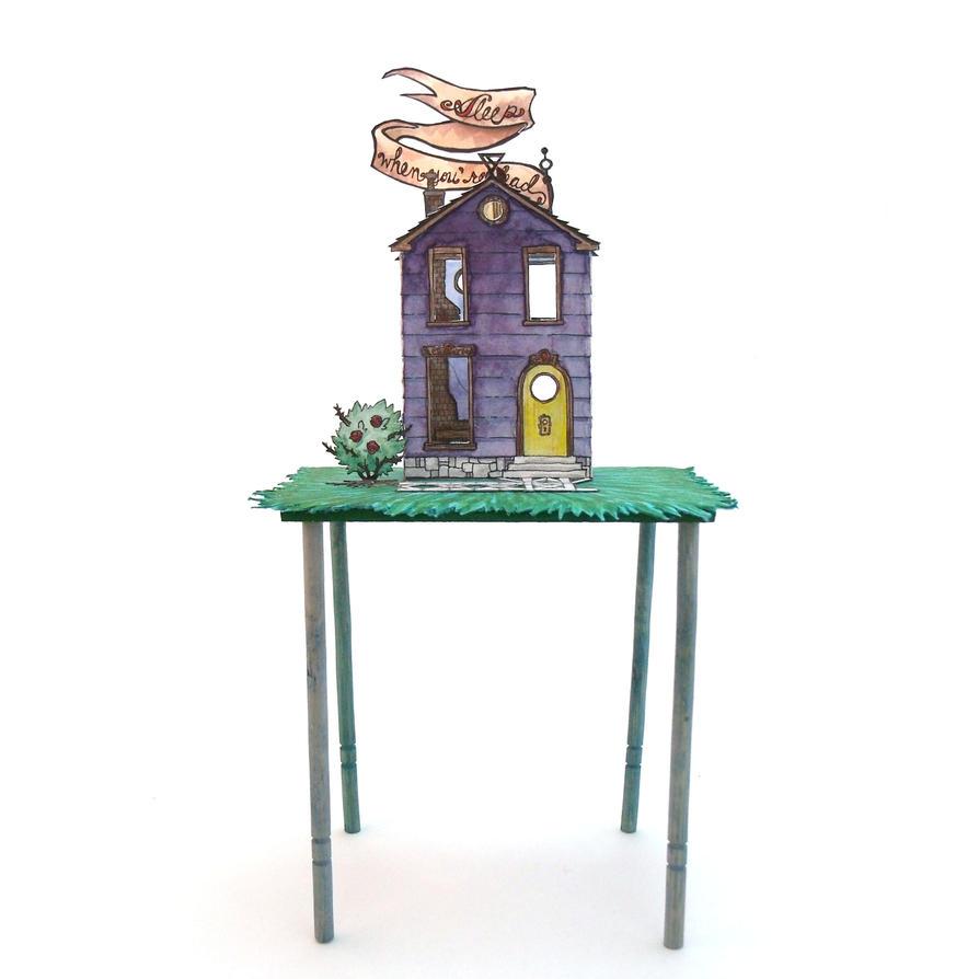 Stilt House by Alecueous