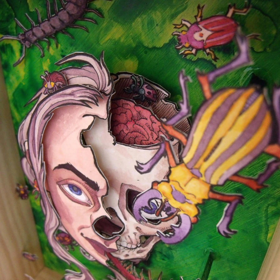Bugs closeup by Alecueous