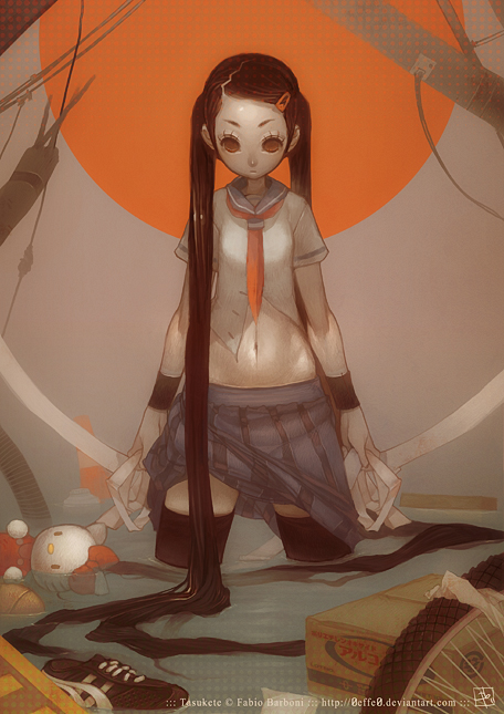Tasukete by Fabio-Barboni