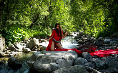 Little red riding hood by LiliCosplay