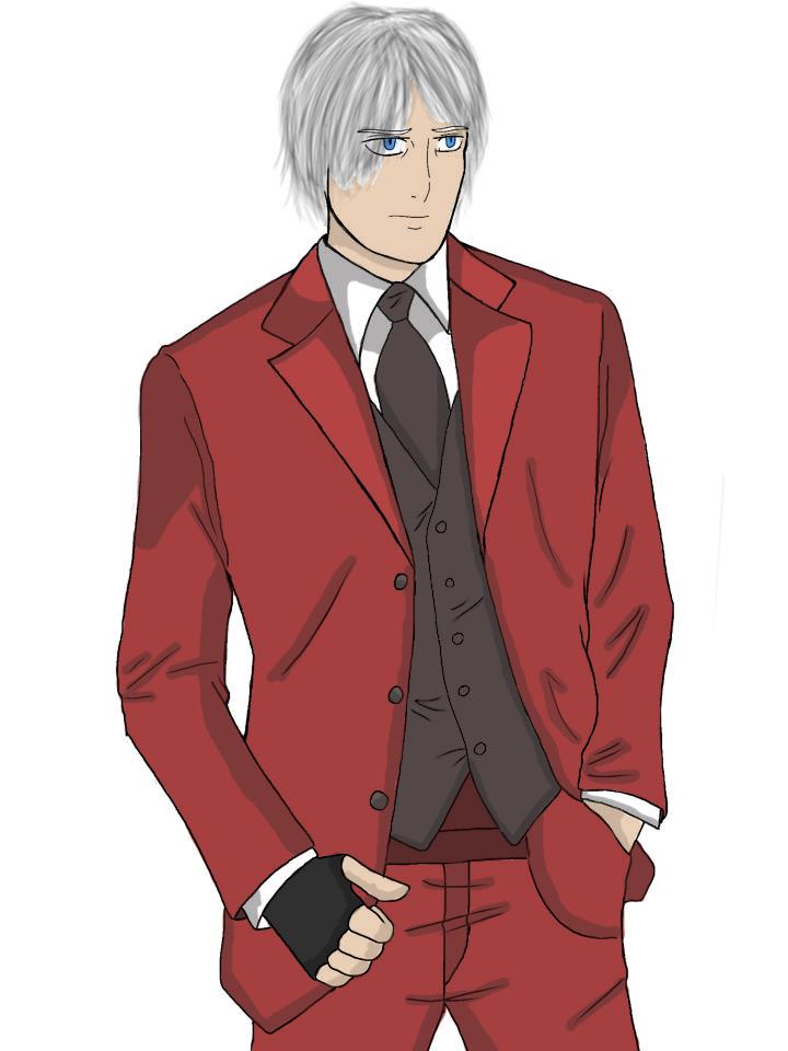 Tuxedo Dante by ThatCharizardGuy