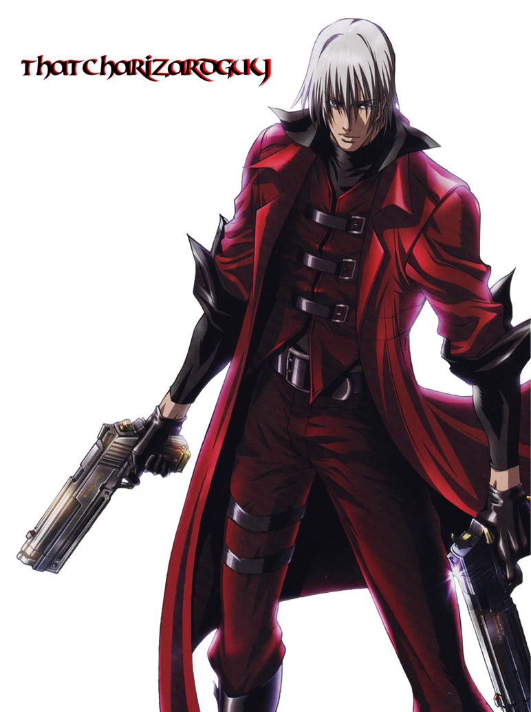 Devil May Cry: The Animated Series Dante Render by ThatCharizardGuy