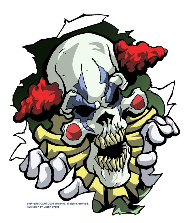 Evil Clown Skulls Pictures to Pin on Pinterest - PinsDaddy