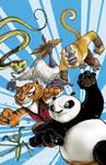 FCBD Kung Fu Panda cover color