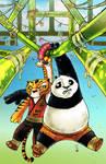 Kung Fu Panda 5 cover colors