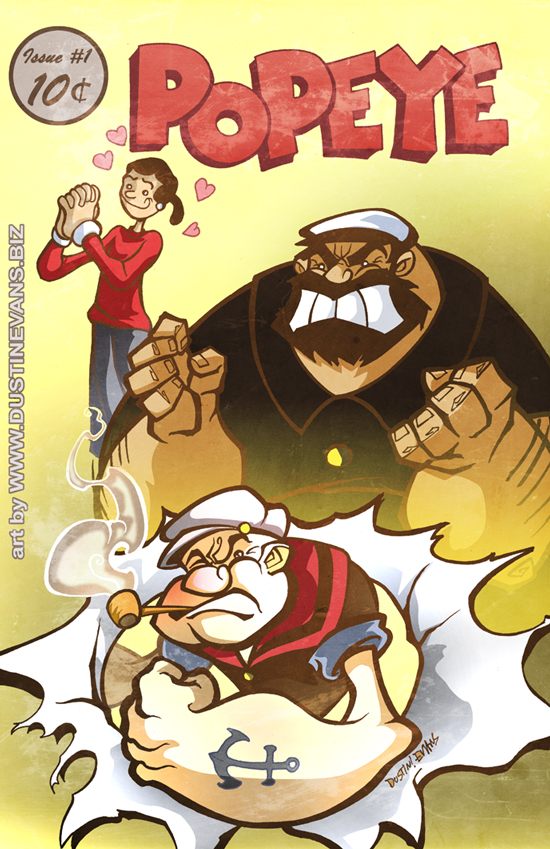 Popeye the Sailor Man by DustinEvans