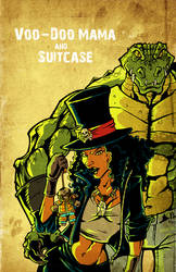Voo Doo Mama and Suitcase by DustinEvans