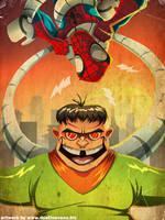 Doc Oc VS Spider-Man by DustinEvans