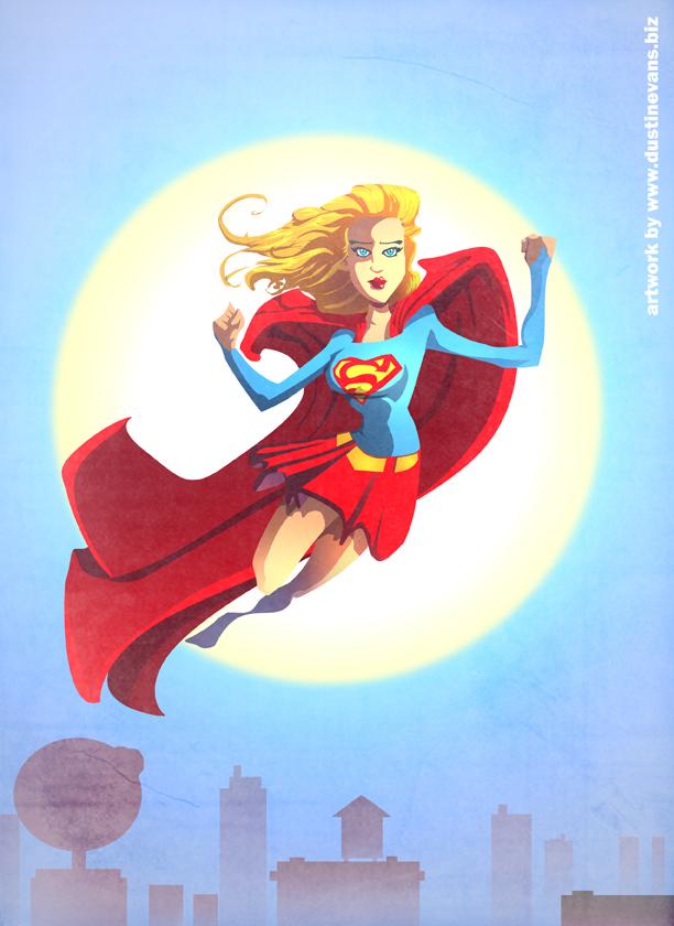 Superwoman by DustinEvans on deviantART