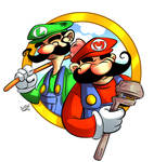 Mario Brothers Commission 2 of 2