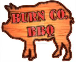 Burn Co BBQ logo