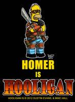 Homer Simpson cosplay as Hooligan