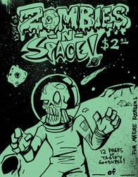 Zombies N Space by DustinEvans