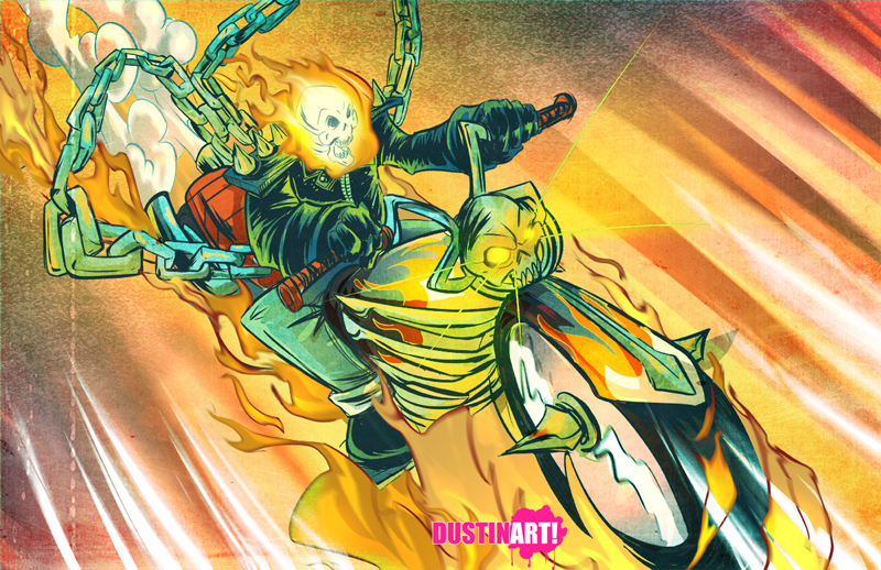 Ghost Rider by DustinEvans