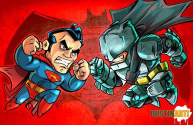 Batman Vs Superman by DustinEvans