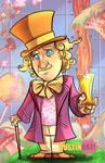 Gene Wilder as Willy Wonka Tribute