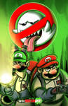 Happy Halloween from the Mario Bros Busters
