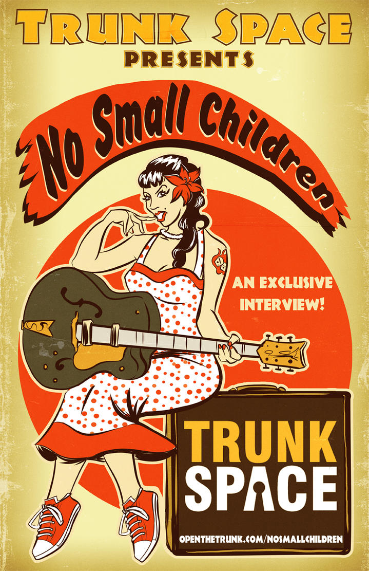 No Small Children poster by DustinEvans