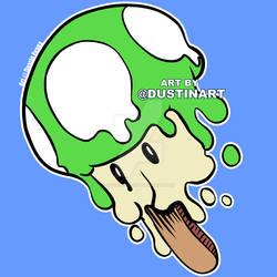 1up Melty Mario Mushroom