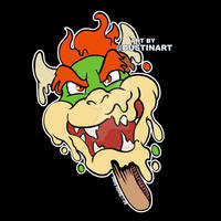 Melty Bowser Popsicle