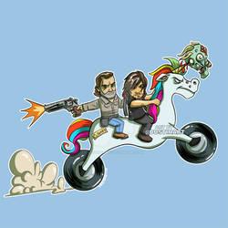 Rick and Daryl Ride Again