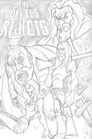 The Devils Rejects Pencils by DustinEvans