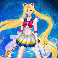 Sailor Moon by mornie-art