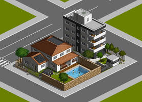Residential Block by celinh0