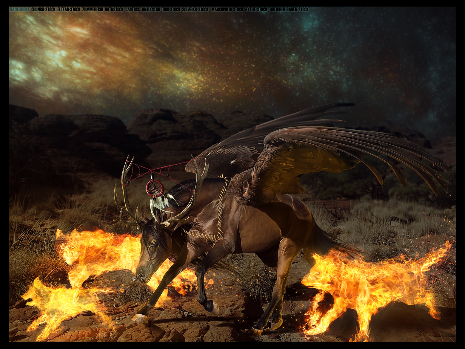 COMMISSION: GAUCHO by THE-WEATHERED-RAVEN